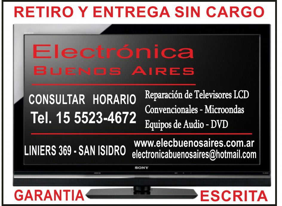 Television. Medela Electronica Bs As. 1-5 Guias BC